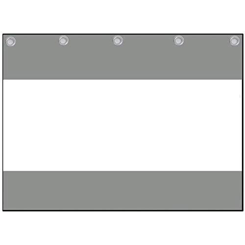Lonas impermeables exterior Transparente Periféricos de terraza PVC de 0,5 mm a prueba de polvo Lona impermeable Toldo de balcón con junta antioxidante, Cortina de viento del departamento de lavado de