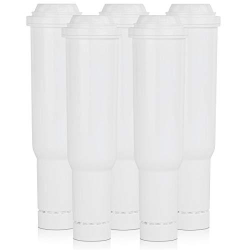 5x SCANPART Wasserfilter passend für Jura Kaffeemaschinen bis Baujahr ´09 Claris white