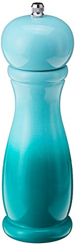 KAMENSTEIN Gradient Wood Pepper Mill, 8', Teal -