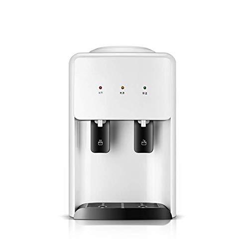 N/Z Living Equipment Home Desktop Mini dispensador de Agua Caliente, Interruptor de Empuje Conveniente para Obtener Agua Máquina de Calentamiento de Agua con Ahorro de energía, Blanco, cálido/calient