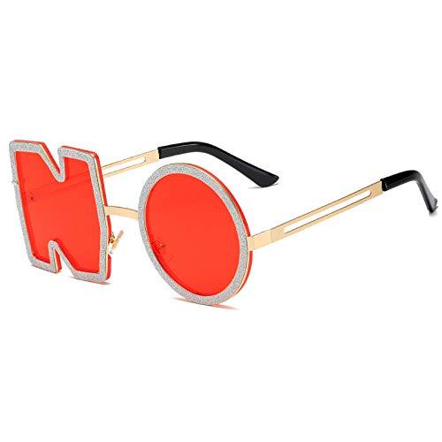 Gafas De Sol Hombre Mujeres Ciclismo Gafas De Sol De Moda para Mujer Gafas De Sol con Letras De Metal Gafas Femeninas-05