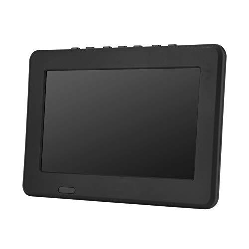 7inch TV Portable, Mini Television Portable, TV LCD Numérique TNT Analogique HD 1080P Lecteur de Télévision avec 800mAh Batteries Rechargeables, pour Chambre, Cuisine, Caravane, Voiture, etc.