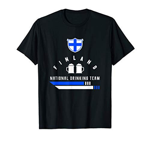 Finnland Drinking Team | Finnland Saufen Party Bier T-Shirt