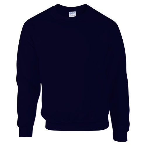 Gildan DryBlend Sweatshirt/Pullover mit Rundhalsausschnitt (L) (Marineblau)