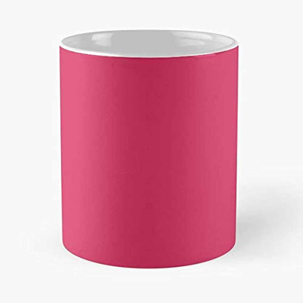 Pink Raspberry Simple Abstract Pantone Colorful Color Colour Mug Coffee Mugs For - Best Pantone Coffee Mug Gift
