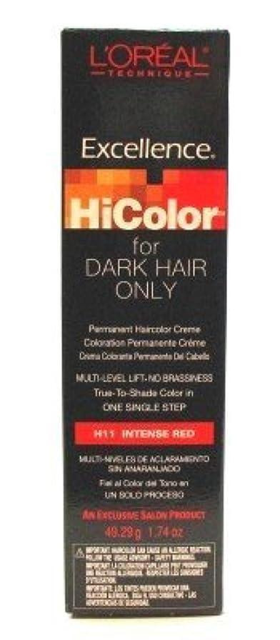 カフェテリアバトル誰L'Oreal Excel Hicolor Intense Red 51 ml Tube (Case of 6) (並行輸入品)