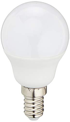 Vision-EL 774632 Ampoule LED E14 Bulb P45 4W 3000°K Blister x 3, Aluminium/PC + Verre, 4 W, Dépoli