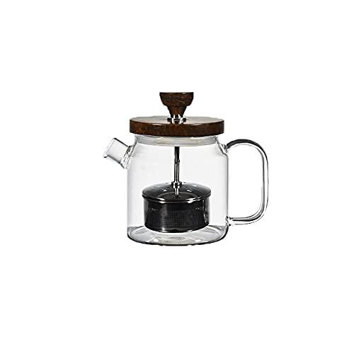 Zoo-yilch Teteras para Te Pote de té de tamaño 17.5 oz./ 500 ml Fabricante de té, colador de té, para té de Hoja Suelto o té floreciente.Pote de té con infusor para 1-2 Tazas de té Suelto