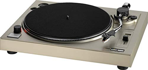 IMG Stageline DJP-104USB Stereo Hi-Fi-Plattenspieler mit USB-Port und integriertem Phono-Vorverstärker, schwarz