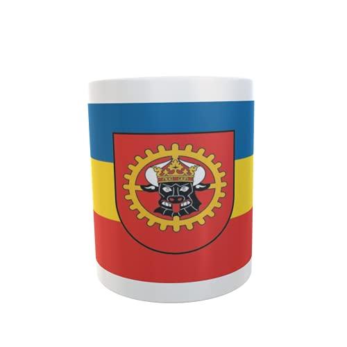U24 Tasse Kaffeebecher Mug Cup Flagge Grevesmühlen