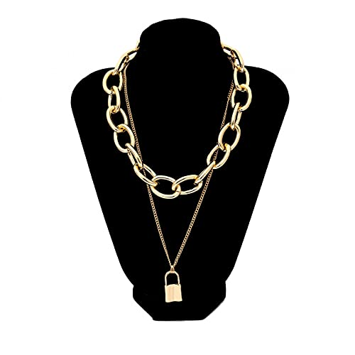 N/A European and American Accessories Temperament Punk Hollow Geometric Necklace Necklace Street...