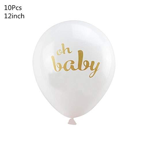 Voor decoratie bladmotief ballons kinder partij bronnen,Oh baby 10st,een afmeting