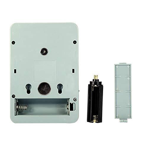 Weikeya Mini lámpara de Noche LED, Tiempo de Carga 2H con ABS 14 * 9 * 3.5cm 2-6H Tiempo de Trabajo