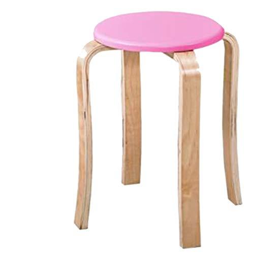 bar chair Super Tragender Barhocker Aus Birke, Geschmacksneutraler GrüNer PVC-Stoff. Mit Schutzpolster, Materialverbreiterung. Geeignet FüR Alle Arten Von Szenen