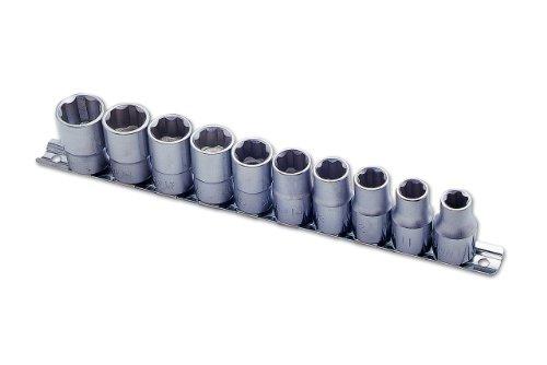 Laser 2384 Lot de 10 douilles à auto-verrouillage 1/2\