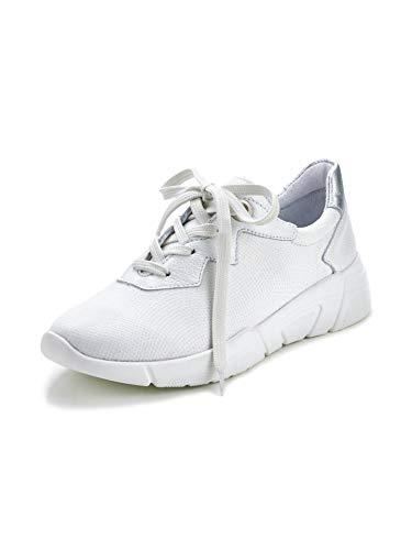 Avena Damen Hallux-Sneaker Supersoft Weiß Gr. 39