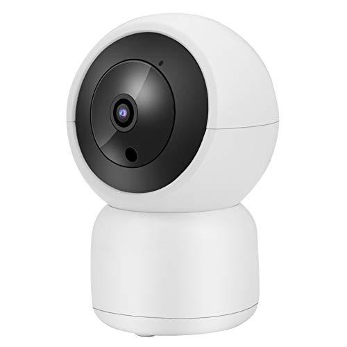FOLOSAFENAR Cámara WiFi IR-Cut 1080P HD con intercomunicador bidireccional Monitoreo Remoto CCTV Seguridad del hogar para(European regulations)