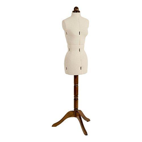 Señora Valet 8 partes vestido ajustable muñeco pequeño