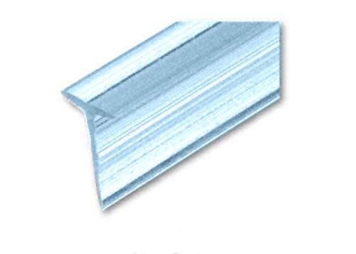 CRL Translucent Shower Door VinylT Seal and Sweep for 7/16 Maximum Gap - 32-5/8 in long