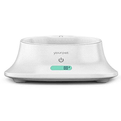 Duoer Home Intelligent voederapparaat voor honden, levensmiddelschaal, nauwkeurig, antibacterieel, Pet Food Bowl