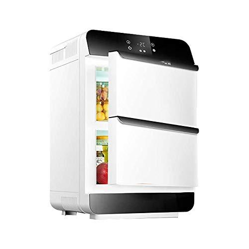 LKNJLL Refrigerador compacto portátil coche del congelador de refrigerador con el temp Display, 25 litros / 26 Quart, compresor de refrigeración for coches, camiones, RV, Barco, Camping, Viaje por car