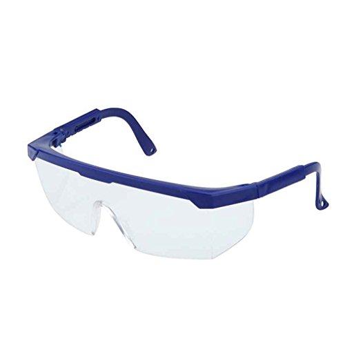 Gankmachine El trabajo de los ojos de seguridad gafas de protección anti-salpicaduras del viento a prueba de polvo Eyewear Gafas azul
