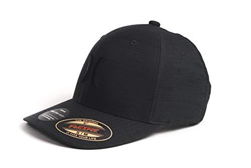Hurley Herren Cap M H20 Dri Marwick Icon Hat Kappe, Black Heather, S/M