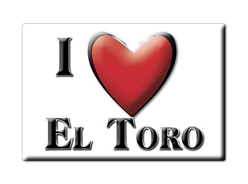 Enjoymagnets EL Toro (CS) Souvenir IMANES DE Nevera ESPAÑA COMUNITAT Valenciana IMAN Fridge Magnet Corazon I Love