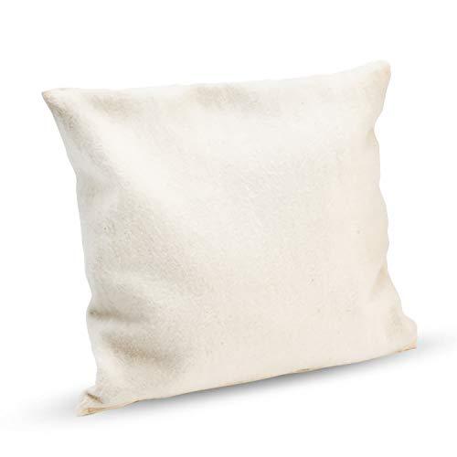 Cuscino alle erbe aromatiche per il fegato Hildegard di Bingen Kräuter - Per la cura del fegato - utilizzabile anche come cuscino profumato per il sonno 16 x 16 cm anche come compagno di base