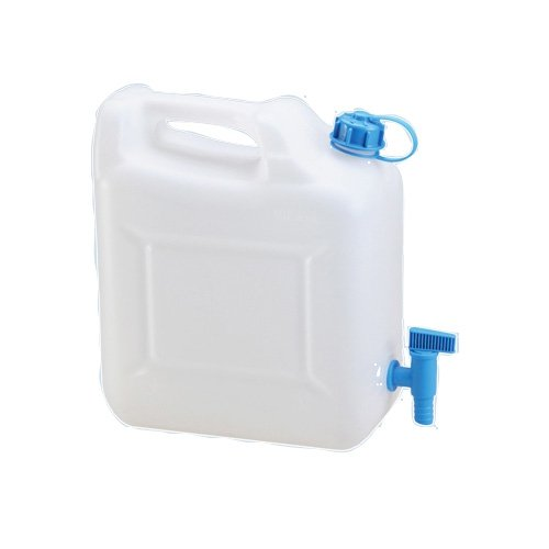 hünersdorff Wasserkanister ECO 10 Liter mit Hahn Camping-Kanister 10L Wassertank Made in Germany !