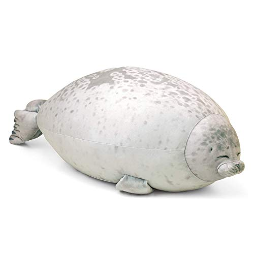 Seal Kussen Blob Chubby Animal Knuffeldier Haai Dolfijnen Walvis Knuffel Kerstcadeau voor kinderen Koppels