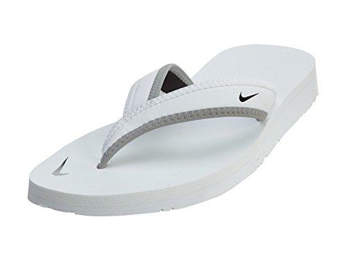 Nike 314870-011 Badelatschen, Damen, Schwarz (Black/White), 38