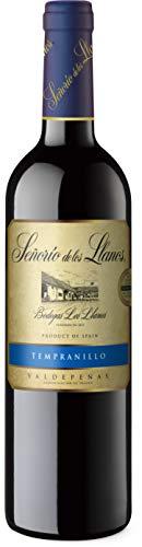 Señorío de los Llanos Tempranillo – Vino Tinto D.O. Valdepeñas – 1 Botella x 750ml