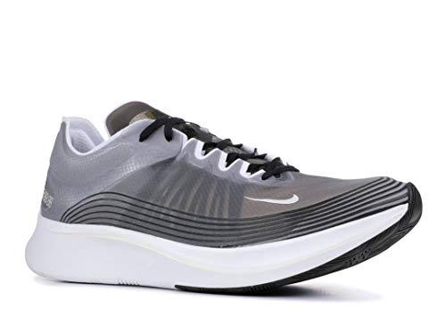 Nike Mens Zoom Fly SP Running Shoes (10 D(M) US), Black/Light Bone/White
