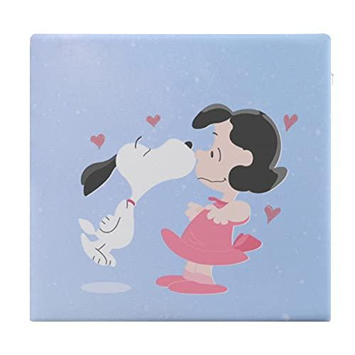 Snoopy Anime Cartoon Piazza Cuscino Per Il Tempo Libero Strutture Culo Sgabello Sedia Auto Cuscino Non Può permettersi La Palla Con Cerniera