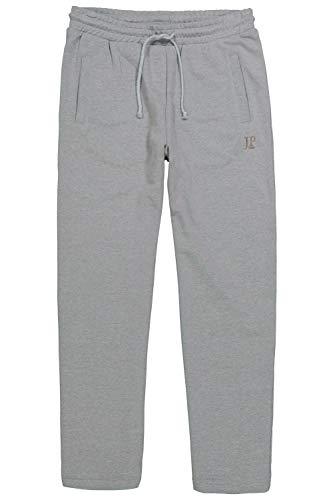 JP 1880 Herren große Größen bis 8XL, Jogginghose, Hose mit elastischem Bund und Saum, 2 Eingrifftaschen, gerade geschnitten grau-Melange 3XL 702635 12-3XL