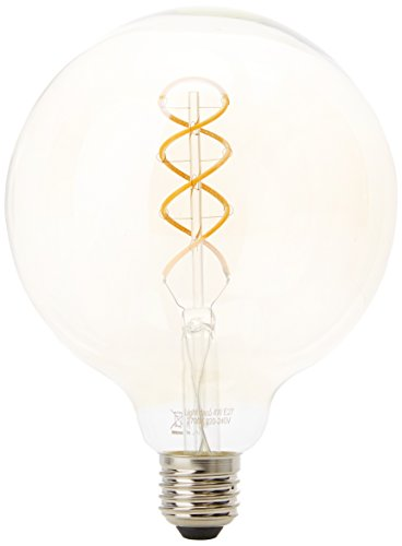 Lighted decó Ampoule LED filament Globe Sphérique E27, 4 W, ambre, 125 x 170 mm