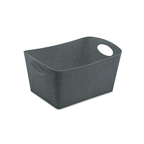 Koziol 5744673 Boxxx M Boîte de Rangement en Plastique thermoplastique Gris foncé 3,5 l