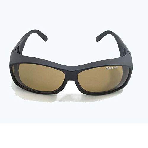 AUED Vidrios Protectores del Laser, IPL de 808nm láser Gafas de Seguridad, UV, Gafas con Puente para los Pacientes de IPL, por Médico de Belleza y Medicina Gafas de protección 🔥