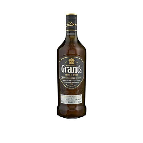 Grant's Triple Wood Smoky Whisky Escocés Blended - 70cl