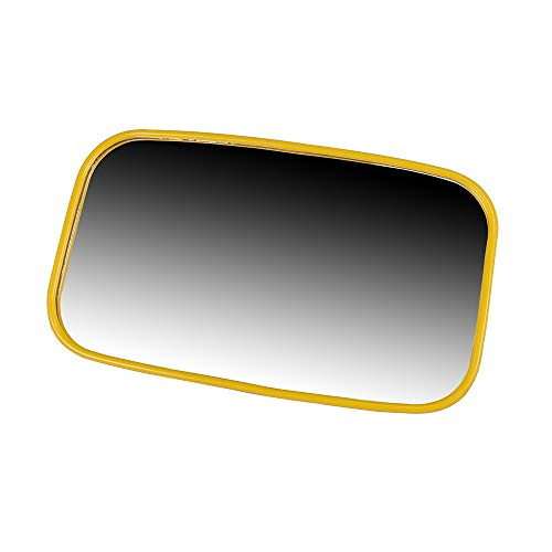 NICHE Yellow Offroad Rear View Center Mirror Kit for Side x Side UTV with 1.75 Inch Roll Bar Cage High Impact