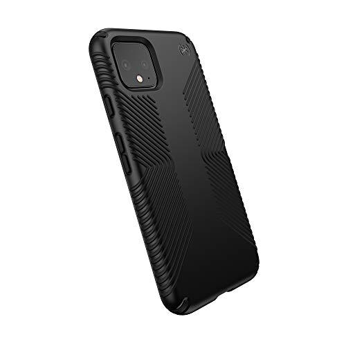 Speck Presidio Grip Google Pixel 4 Case, Black/Black (131857-1050)