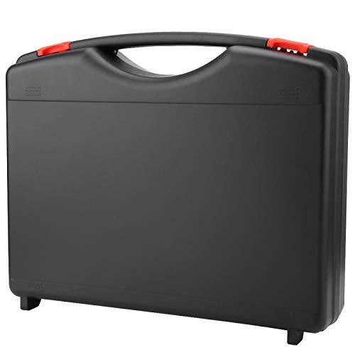 Caja de herramientas de fibra, 330 * 260 * 80 mm Caja de herramientas de fibra óptica, para herramientas de fibra óptica de red Caja de herramientas Herramienta de fibra Estuche vacío