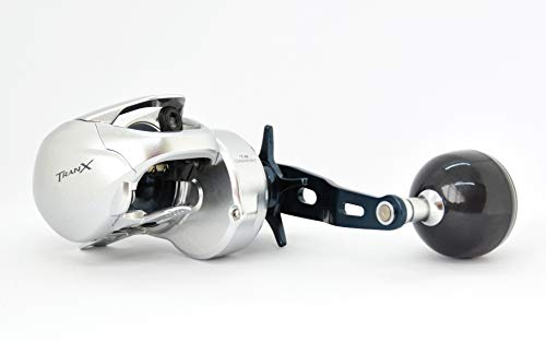 Shimano TRANX 301A HG, Left Hand Baitcasting Fishing Reel with Power...