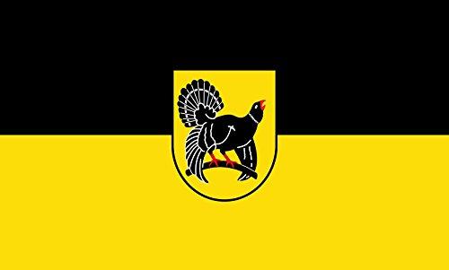 Unbekannt magFlags Tisch-Fahne/Tisch-Flagge: Freudenstadt (Kreis) 15x25cm inkl. Tisch-Ständer