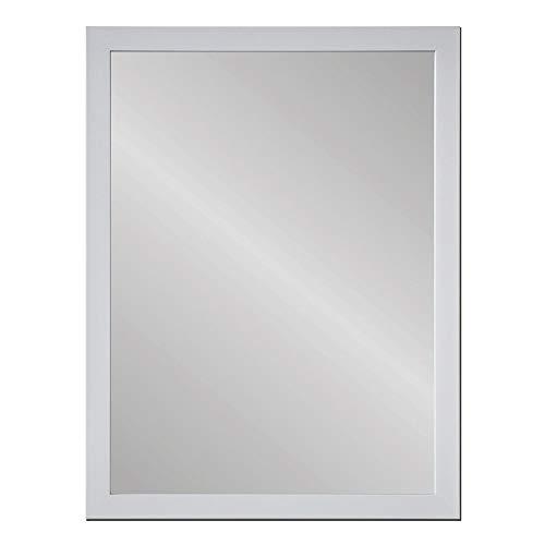 Espejo de Pared Blanco de plástico nórdico para decoración de 56 x 76 cm Fantasy - LOLAhome