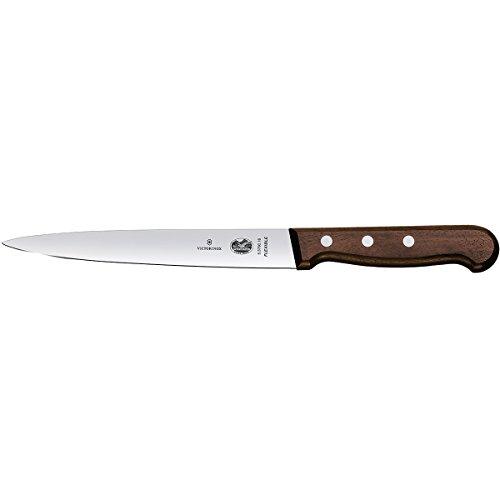 Victorinox Küchenmesser Filetiermesser Palisander 18 cm Messer, Holz, braun, One size
