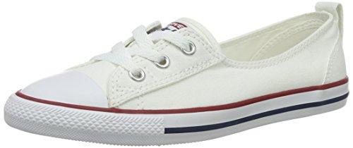 Converse Damen Ctas Ballet Lace Slip On Sneaker, Weiß (Whitewhite), 40 EU