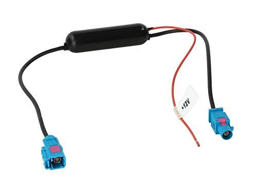 Antennenverstärker Fakra Stecker (m) auf Fakra Buchse (f)