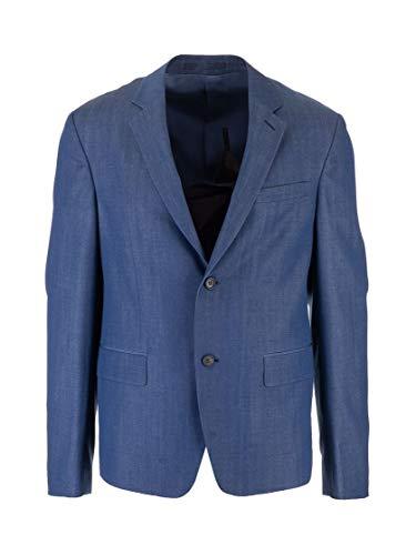 Prada Luxury Fashion Herren SD020S1821VTJF0081 Blau Wolle Blazer   Frühling Sommer 20